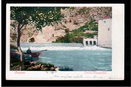 CROATIA Dubrovnik Ragusa  Ombla- Wasserfall 1903 OLD POSTCARD - Croacia