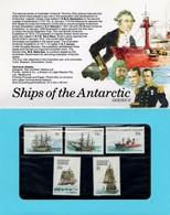 AUSTRALIAN ANTARCTIC TERRITORY (AAT) • 1980 • Ships Of The Antarctic: Series II • Pack - Australian Antarctic Territory (AAT)