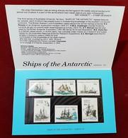 AUSTRALIAN ANTARCTIC TERRITORY (AAT) • 1981 • Ships Of The Antarctic: Series III • Pack - Australian Antarctic Territory (AAT)