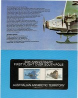 AUSTRALIAN ANTARCTIC TERRITORY (AAT) • 1979 • 50th Anniversary Of First Flight Over South Pole • Pack - Australian Antarctic Territory (AAT)