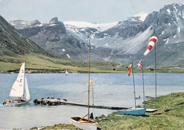 73 - TIGNES - Voiliers Sur Le Lac Naturel - Autres Communes