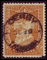 "TASMANIA • CDS Postmark On 4d Pictorial, Perf ""T"" • DERBY - 1853-1912 Tasmania"