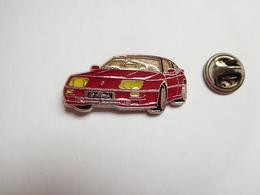 Beau Pin's , Auto Renault Alpine Le Mans Rouge - Renault