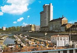 Croatia Osijek 1980 / Panorama, Drava River, Boats - Croatia