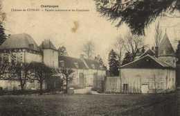 Champagne Chateau De CUISLES  Facade Interieure Et Les Communs RV - France