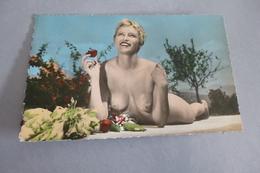BELLE FEMME NUE ...SOURIANTE - Nus Adultes (< 1960)
