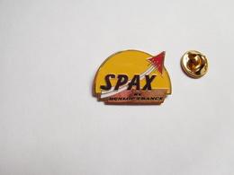 Beau Pin's , Auto , Pneumatique Dunlop Spax , Tyres - Pin's