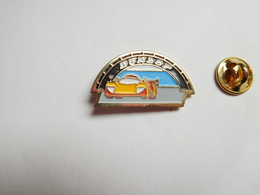 Beau Pin's , Auto , Pneumatique Dunlop Sport Proto , Le Mans  , Tyres - Pin's