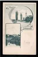 CROATIA Lekenik Pozdrav Iz Lekenika Pre 1900 OLD POSTCARD - Croatia