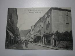 12 Saint Affrique, Rue De La République. Carte Inédite (A8p29) - Saint Affrique