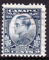 CANADA 1932 KEDVII When POW 5c Blue Ottawa Conference SG316 FU - 1911-1935 Reign Of George V