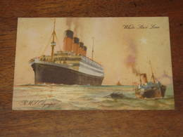 WHITE STAR LINE / R. M. S. OLYMPIC - Paquebots