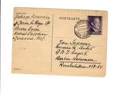 Ganzsache GG P 13: Skierniewice An Lager Weissensee, Baracke 9.12.44 - Besetzungen 1938-45