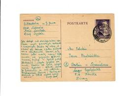 Ganzsache GG P 13: Lowitsch An Lager Egelpfuhl Fa Hanke/Diwag Berlin-Spandau - Besetzungen 1938-45