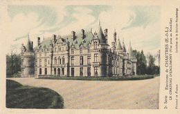 Cp , CARTES , CHARTRES , Environs , Le Château D'ESCLIMONT (Vue Prise Au Nord-Est) - Cartes