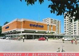 Croatia Slavonski Brod 1972 / Vesna, Car VW Beetle / Pozdrav, Greetings - Croatie