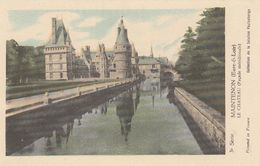 Cp , CARTES , MAINTENON (Eure-&-Loir), Le Château (Façade Méridionale) - Maps