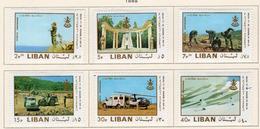 1969 - LIBANO - LEBANON - Mi. Nr.  1093/1098 - LH - (S03052019.....) - Libanon