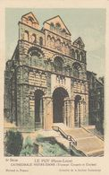 Cp , CARTES , LE PUY (Haute-Loire), CATHÉDRALE NOTRE-DAME (Transept, Coupole Et Clocher) - Maps