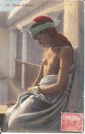 TUNISIE - TYPES D'ORIENT - Jeune Arabe Aux Seins Nus En 1914 - Lehnert & Landrock , Photo. , Tunis - Afrique Du Nord (Maghreb)