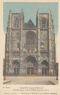 Cp , CARTES , NANTES (Loire-Inférieure), CATHÉDRALE SAINT-PIERRE (Ensemble Ouest) - Cartes