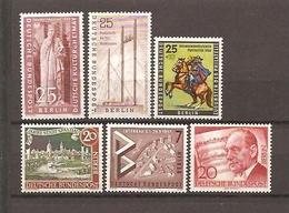BERLIN 1956-1957. Verschiedene Briefmarken MNH - Neufs