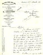 COURTAUDON  Fers, Fontes, Aciers  ISSOUDUN  VATAN   36 - France