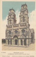 Cp , CARTES , ORLÉANS (Loiret), CATHÉDRALE SAINTE-CROIX (Ensemble Ouest) - Cartes