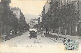 Grenoble (Avenue Alsace-Lorraine, Attelage - Carte LL N° 31 Dos Simple - Grenoble