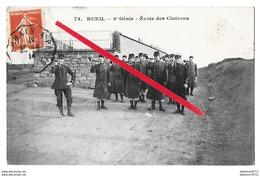 RUEIL MALMAISON   Ecole Des Clairons  8e Génie  (recto-verso) - Rueil Malmaison