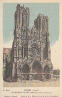Cp , CARTES , REIMS (Marne), CATHÉDRALE NOTRE-DAME (Ensemble Nord-Ouest) - Cartes