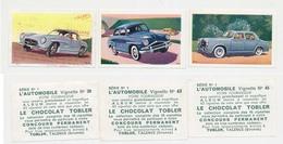 Image D'automobiles Distribuée Par Le Chocolat TOBLER à Talence GirondeImag N° 30-43-45 De La Série N° 1 - Chocolat