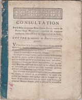 12 Thermidor An 6 / Appel Contestation Jugement / Citoyenne Marillac / Communes Beauvoisin & Chaussin / 39 Jura - Documents Historiques