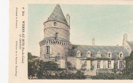 Cp , CARTES , WIERRE-au-BOIS (Pas-de-Calais), Le Château - Cartes