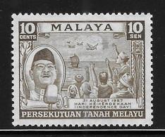 Federation Of Malaya 1957 Independence Day MNH - Federation Of Malaya