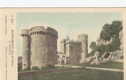 Cp , CARTES , PONTGIBAUD (Puy-de-Dôme), Le Château - Maps
