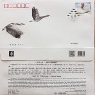 2018-22 CHINA Wild Goose FDC - 1949 - ... République Populaire