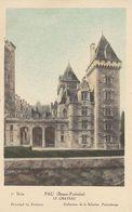 Cp , CARTES , PAU (Basses-Pyrénées), Le Château - Cartes