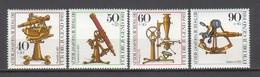 BERLIN 1981. Jugend Optische Instrumente Michel 641-644 Komplett MNH - PG - [5] Berlin