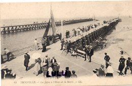 DEPT 14 : édit. L L N° 44 : Trouville La Jetée A L Heure De La Marée - Trouville