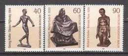 BERLIN 1981. Skulpturen Michel 655-657 Komplett MNH - PG - [5] Berlin