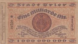 1000 000 000 MARK, Berlin 1923, A 10750 * , Série Etoile - 1918-1933: Weimarer Republik