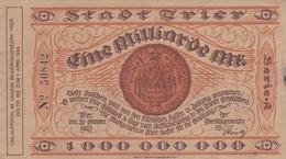 1000 000 000 MARK, Berlin 1923, A 50842 - 1918-1933: Weimarer Republik