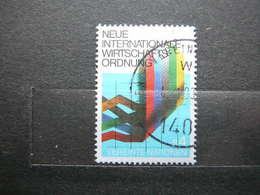 New Economical Order # United Nations UN Vienna Austria 1980 Used #Mi. 7 Flags Keys - Oblitérés