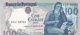 PORTUGAL / 100 ESCUDOS 1981 / TTB - Portugal