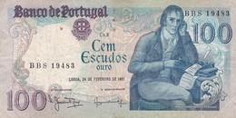 PORTUGAL / 100 ESCUDOS 1981 / - Portugal