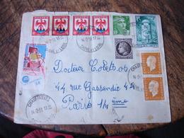 Affranchissement Philatelique  9 Timbre Plus Erinnophilie Tuberculose Horoplan Chaufailles - Postmark Collection (Covers)