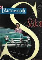 Revue Ancienne 1953 L'Automobile  Le Salon Octobre 1953 - Auto/Moto