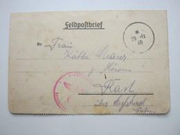1940 ,  Mühlhausen,  Lettre    Militaire Allemagne - Alsace-Lorraine