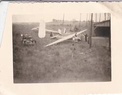 MINI-PHOTO----AVIATION---PLANEUR  --voir 2 Scans - Aviation